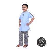Baju Koko Anak Laki-Laki Lengan Pendek Trendy - Baju Koko Berkualitas