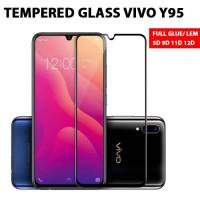 Premium Tempered Glass ANTI GORES VIVO Y 95 Y95 FULL LEM GLUE 9D 11D