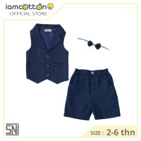 Baju Resmi Anak / Setelan Jas Bayi / I Am Cotton Vester Suit