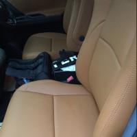 Promo Jok Permanen paten bahan kulit Articoleder mobil 3 baris khu