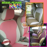 Sarung Jok Mobil Ertiga GL/GX - Bahan Ferari 2 Warna