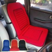 asesoris seat cushion sandaran jok merah mobil honda jazz Brio