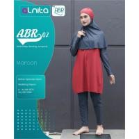 Baju Renang Jumpsuit + Alnita AN-ABR 02 + Baju Renang Muslimah Ori