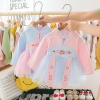 DRESS ANAK BAYI IMPORT -703 - DRESS IMLEK CHEONGSAM KOSTUM