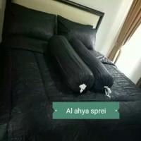 BED COVER QUEEN SIZE 160x200x30-P.O HITAM DAN SEMUA WARNA