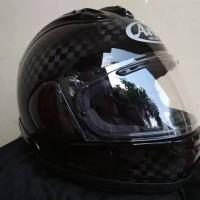 ARAI RX7X SRC CARBON BLACK ORIGINAL I HELM MOTOR FULL FACE RX-7X
