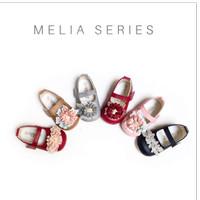 Sepatu Bayi Flat Prewalker Tamagoo - Melia Series Murah - Black, 2