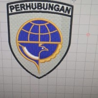 Patch Emblem Logo Perhubungan