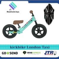 Sepeda Keseimbangan Balance Bike - Kick bike London Taxi