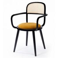 Kursi Arm Chair I Jati Anyaman Rotan