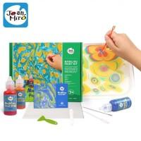 Joan Miro Marbling Paint Kit Art Craft mainan edukasi montesorri set