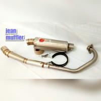 KNALPOT RACING CLD MONSTER OVAL JUPITER MX OLD MX NEW 135.KNALPOT CLD