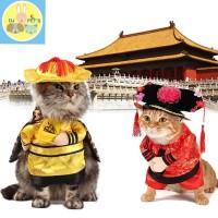 baju anjing dan kucing kostum imlek chinese new years