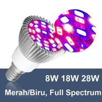 Lampu Cahaya Tanaman Tumbuhan Hidroponik LED Plant Grow Light E27