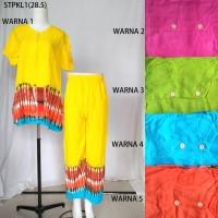 Grosir Setelan Kulot Baby Doll Baju Tidur Batik Pekalongan 5 Pcs 1