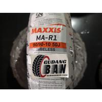 Maxxis MA R1 90 90 -10 50J TL Tubless Ban Luar Vespa Classic
