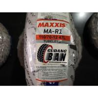 Maxxis MA R1 110 70 -12 47L TL Tubless Ban Luar Vespa Classic