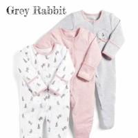 Mamas Papas Sleepsuit Set 3 in 1 Motif Grey Rabbit