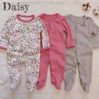 Mamas Papas Sleepsuit Set 3 in 1 Motif Daisy