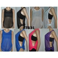 Outer Baju Senam bahan Jala kode ATB 66 ( tidak termasuk bra)