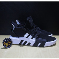 Sepatu Adidas EQT Support ADV Bask BasketBall Black White Core Black