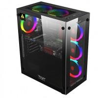 Armageddon Nimitz TR5000 Black Gaming Case