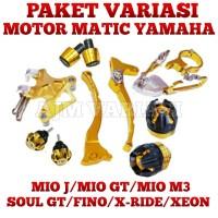 AKSESORIS VARIASI MOTOR MATIC MIO J MIO GT M3 SOUL GT FINO X-RIDE XEON