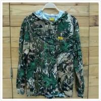 Baju camo Greyhound motif mossyok hijau daun