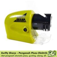 Swifty Sharp Electric Sharpener / Pengasah Elektrik Pisau, Gunting,dll