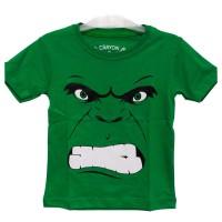kaos anak superhero baju anak super hero hulk (glow in the dark)