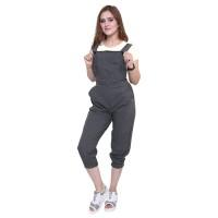 overall baju kodok panjang wanita celana jumpsuit/kulot cewek UN0BH