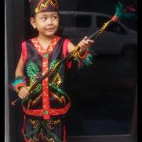 Hot Produk Dayak Tk Wanita Lengkap   Baju Adat Kostum Anak Karnaval