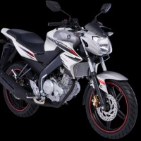 Original Stiker Striping Motor Yamaha New Vixion 2014 Putih Premium