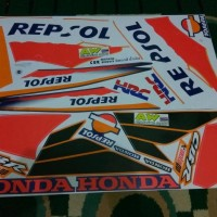 Original Striping Cbr Old 150 Repsol Th2003 Premium