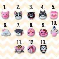 TERLARIS PopSocket 3D 4D PIG Cat Totoro PinkPhanter panda icecreem dog