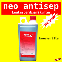 Anti Virus Pembasmi Kuman - NEO ANTISEP New Formula - 1 Liter MEDION
