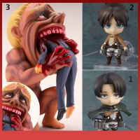 Earlyta Kids Boys Toys Anime Attack On Titan Action Figure