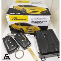 Alarm Mobil merk Premium Kunci Lipat / Model Remote Innova Reborn