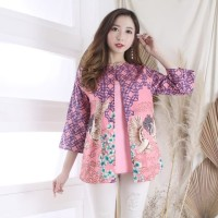 Patti Batik Blouse Baju Wanita Imlek CNY Shirt 6131