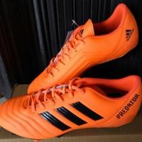 sepatu bola adidas predator orange komponen original
