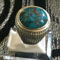 Cincin Batu Pirus Persia / Natural Pyrus Turquoise