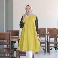 Baju Atasan Wanita Terbaru Versace Tunic Baju Tunik Hijab Syari Murah