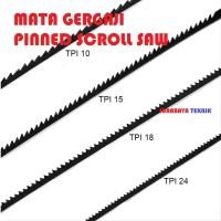 ST MATA GERGAJI SCROLL SAW PIN 10/15/18/24 TPI per PCs