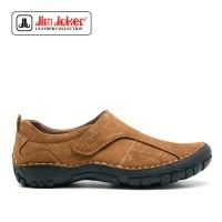 Sepatu Jim Joker Haper Casual Brown Pria Original