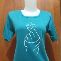 pakaian baju kaos wanita - kaos sarangheo