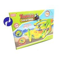 Mainan Anak Track Racer Thomas Kereta Thomas Super Motordrome