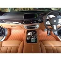 Karpet Mobil Lantai Haima BMW 330 Tahun Produksi 2019-2021 Full Bagasi - Ungu