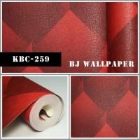 Wallpaper Dinding Murah Bahan Vinyl KBC-259