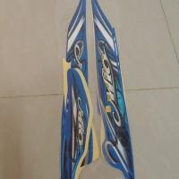 Original Stiker Bodi & Lis Body & Striping Mio Sporty 2010 Biru