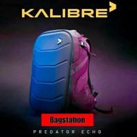 Backpack Kalibre Predator Echo Tas Ransel Laptop Pria Wanita Original